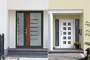 mit sicherheit ein eleganter empfang haust ren zimmermann fensterbau. Black Bedroom Furniture Sets. Home Design Ideas